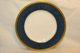Wedgwood Blue Stippled  Band Pattern W6262 Bread Plate Swineburne Ulander - $13.85