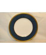 Wedgwood Blue Stippled  Band Pattern W6262 Bread Plate Swineburne Ulander - $12.59