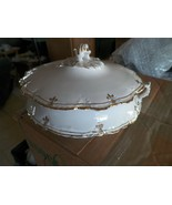 Homer Laughlin covered round bowl (H95) 1 available - $35.59