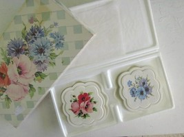 AVON COUNTRY GARDEN WILDFLOWERS BAR HOSTESS SOAP SET OF 2 NEW IN BOX 3 o... - $9.49