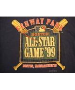Vintage MLB Major League Baseball All Star Game 99 Logo Athletic T Shirt... - $20.98
