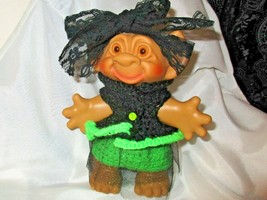 TROLL CLOTHES / Fits 5-6 in. WITCH OUTFIT clothes only set HALLOWEEN bla... - $10.88