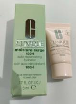 Clinique Moisture Surge 100H Auto-Replenishing Hydrator  0.17 FL Oz New With Box - $17.33