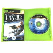 TimeSplitters Future Perfect Microsoft Xbox 2005 Complete With Manual - $39.19