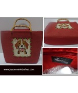 San Diego Hat Co Bamboo Ultra Braid Purse Red Beagle - $19.99