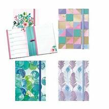 Weekley Planner & Notepad Set (4 Planners/Notepads Total) w/Elastic Pen... - $12.71