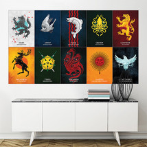 Wall Poster Art Giant Picture Print Game of Thrones House Sigils 1723PB - $27.99