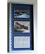 """History of B-9 to B-17 WWII Aircraft Framed 5"""" X 7"""" Prints in a Silver F... - $69.25"""