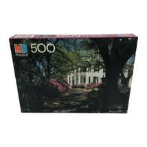 Milton Bradley Stanton Hall Natchez Mississippi 500 Piece Jigsaw Croxley Puzzle - $19.99