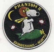 USAF F-4 Phantom II 100 Missions North Vietnam War Patch Hard to find NE... - $11.87