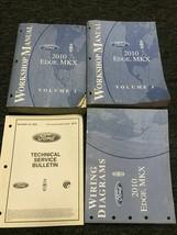 2010 Ford Edge Lincoln Mkx Service Shop Repair Workshop Manual Set Oem W Ewd Tsb - $44.50