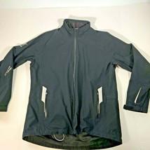 Sunice Goretex Hurricane Golf Jacket Women's Size L LPGA Black Full Zip - $27.71