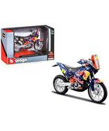 KTM 450 Rally Dakar #1 Red Bull 1/18 Diecast Motorcycle Model by Bburago... - $28.04
