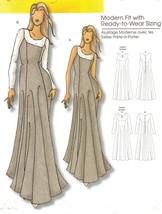 Misses  Formal Evening Dress Gown Soft Folds Flatter Hips Sew Pattern 3-16 - $11.99