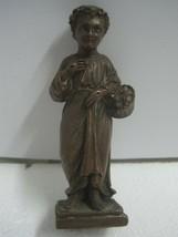 19th century Figures Figurine a child signed - $51.08