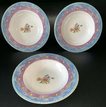 "Lot 3 Sango Sue Zipkin 3042 Birds And The Bees Large Soup Bowls Unused 8.75"" - $24.99"