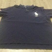 Polo Ralph Lauren Mens 2xl Us open 2013 Navy Blue Polo Shirt  - $21.29
