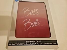 """Onn snap-on iPad Case for 9.7"""" iPad Pro & iPad (5th gen), iPad Air, iPad Air 2 image 2"""