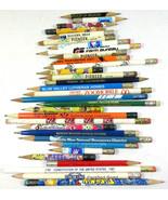 Lot of 31 Vintage Mixed Pencils Advertizing Farm Pioneer Seed Colorado P... - $9.85