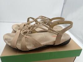 JSport by Jambu Women's April Encore Flat Sandal tan 8 M - $13.30