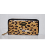 LAUREN Ralph Lauren Zip Around Wallet Leopard Pattern (pre-owned) - $24.99