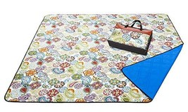YAPA Picnic Blanket - Water-Resistant Outdoor Blanket -Extra Large 80x80... - $34.26