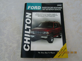 Vintage Chilton Ford Repair Manual Ranger/Explorer/Mountaineer 1991-99 - $10.00