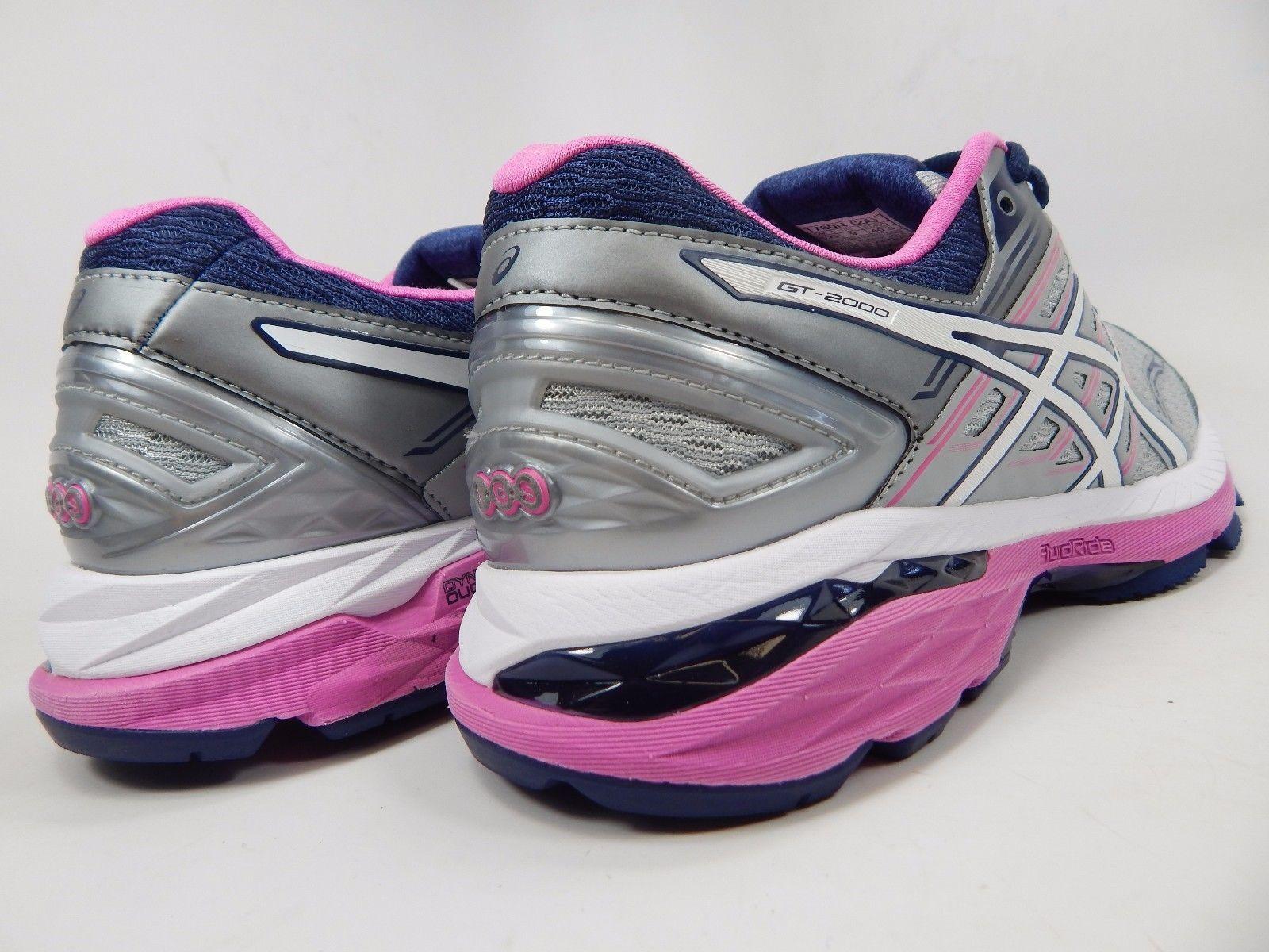 Asics GT 2000 v 5 Women's Running Shoes Sz US 9 2A NARROW EU 40.5 Silver T760N