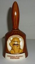 Vintage Teddy Bear Universal Studios Hollywood California Bell - $39.99