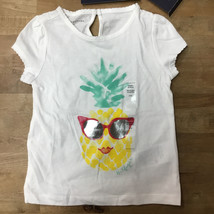 Tommy Hilfiger Girl's Pineapple  Print S/S T-Shirt  Size 2 T - $12.86