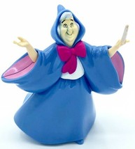 "Disney Cinderella Fairy Godmother 3"" Tall Plastic Figure Mattel Cake Topper - $2.96"