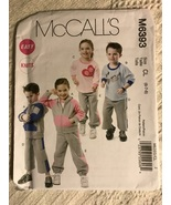 McCall's  M6393 Children's, Boys' and Girls' Jacket, Tops and Pants in 2... - $9.95