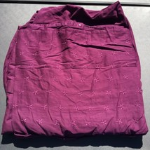 "Purple Full Sized Duvet Cover Ikea Tanja Brodyr 80"" x 78"" - $29.02"