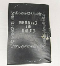 Vintage Kenmore Sewing Machine Monogrammer 26 Templates w/ Feet Instruction Book - $24.74