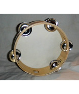 """7"""" Wood TAMBOURINE W/Jingles Folkloric Dance Performance Or Church From ... - $14.03"""