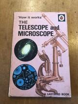 "1971-74 ""HOW IT WORKS - TELESCOPE & MICROSCOPE"" LADYBIRD BOOK (SERIES 65... - $2.61"