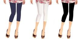 PACK OF 6 NEW VIOLA WOMEN'S ATHLETIC CAPRI LEGGINGS PANTS 7101 SIZE SMALL