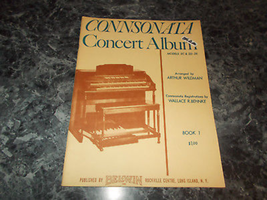 Connsonata Concert Album Models 2C,2D-2E Arthur Wildman book 1 one - $4.99
