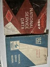 1967 AMC Rambler American Service Shop Repair Workshop Manual Set W Nati... - $29.65