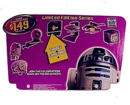 Taco Bell 1997 Star Wars Trilogy Kids Meal Today's Toy Register Topper Sign - $49.95
