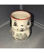 YOKOHAMA Studio HandPainted Puppy Dog Ceramic Coffee Tea Mug Cup - $12.82