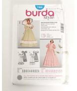 Burda 7466 Pattern History Civil War Era Wide Skirt Size 10 to 22 incl s... - $16.95