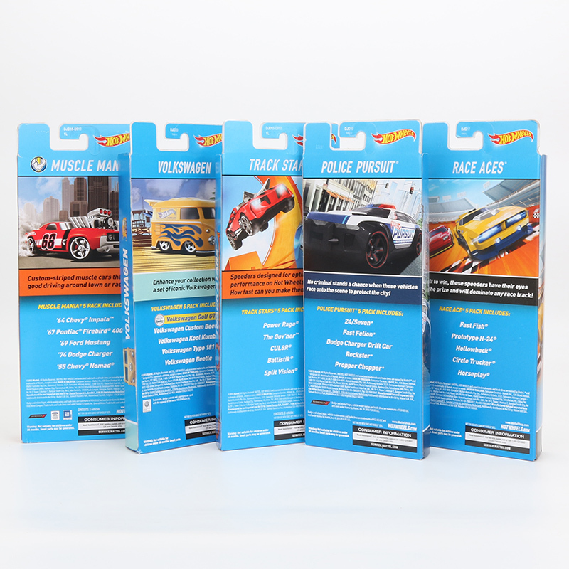 "Original 5pcs/box Hotwheels ""FAND STANDS"" Mini Car Collection Model Toys 1:64 Fa"