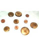 10 Large Brown beads for jewellery making - 10 Large Brown beads - New - $5.53