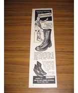 1957 Print Ad Streamwood Rubber Hunting Boots Beacon Falls,CT - $11.05