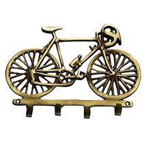 Aakrati Cycle Shape Brass Hook- Key Hanger - Coat Hook - Key Holder - Me... - $27.99