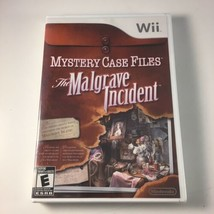 Mystery Case Files: The Malgrave Incident (Nintendo Wii, 2011) - NEW / S... - $14.64