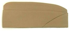 US Navy Cap USN CPO Officer Garrison Khaki Service Hat M: 7 W: 22 NWT - $14.80