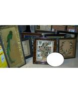 antique victorian deep shadow box lot of 8,coffin parrot/bird,wax,feathe... - $2,400.00