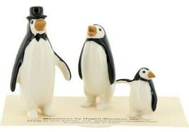 Hagen Renaker Miniature Bird Penguin Family Papa Mama Baby Ceramic Figurines image 8